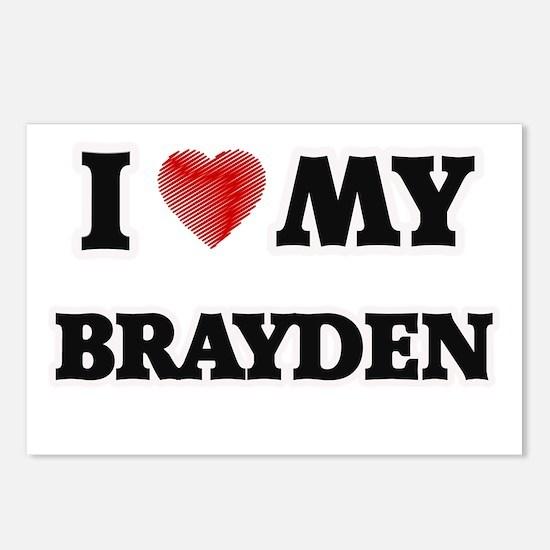 I love my Brayden Postcards (Package of 8)