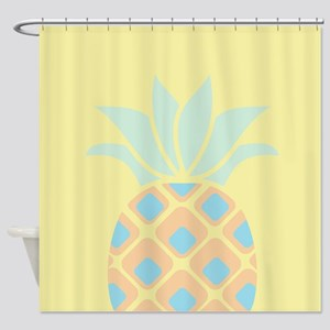 Hawaiian Pineapple Pattern Tropical Picture Frame1618390721 Shower