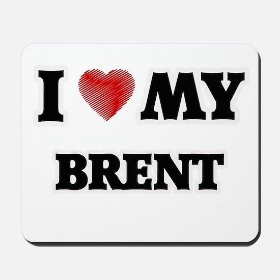 I love my Brent Mousepad