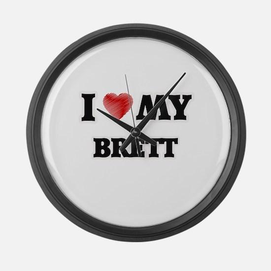I love my Brett Large Wall Clock