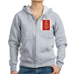 Keep Calm and Foster On Zip Hoodie