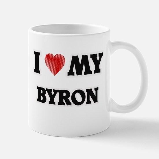I love my Byron Mugs