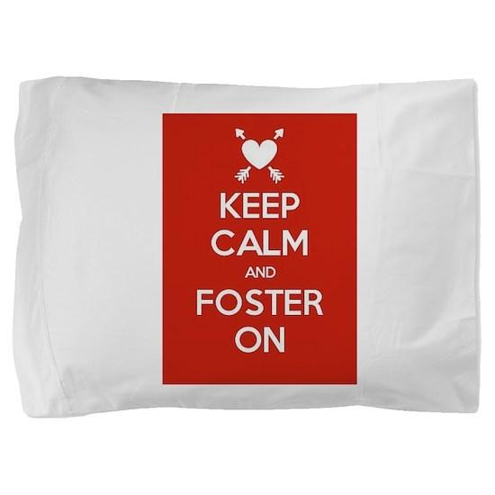 Cute Foster care Pillow Sham