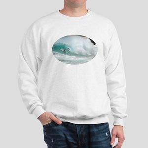Surfing Sandy Beach Hawaii Sweatshirt
