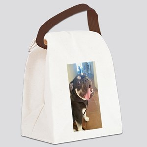 Happy! Chuck the Old English Bulldog Canvas Lunch
