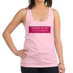 Crooked Hillary Racerback Tank Top