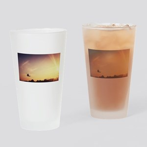 Air Ambulance Drinking Glass