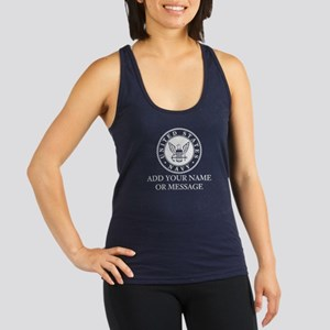 PERSONALIZED US Navy Racerback Tank Top
