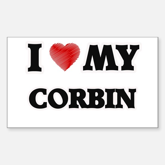 I love my Corbin Decal