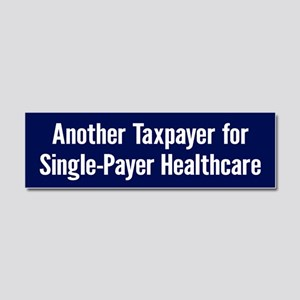 Single-Payer Car Magnet 10 X 3