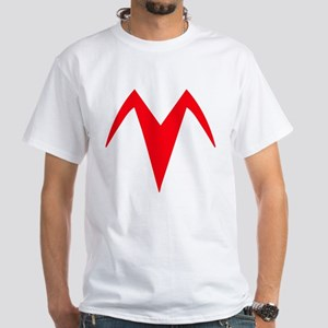 Racer X Chest 2-Sided Accurate White T-Shirt