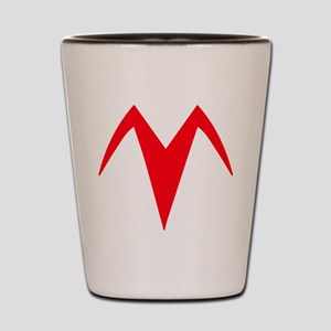 Racer X Chest Emblem ACCURATE Shot Glass