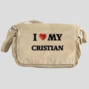 I love my Cristian Messenger Bag