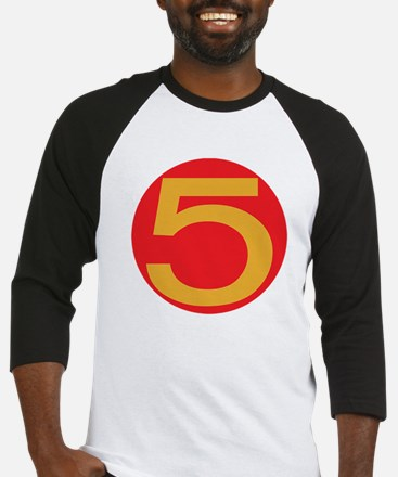 Speed Racer Mach 5 Door Number Baseball Jersey