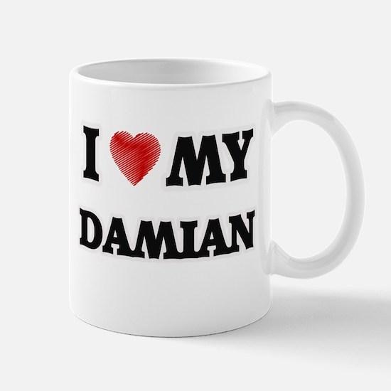 I love my Damian Mugs