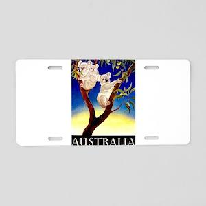 Australia Travel and Tourism Print Aluminum Licens
