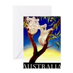 Australia Travel and Tourism Print Greeting Cards