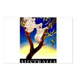 Australia Travel and Tourism Print Postcards (Pack