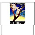 Australia Travel and Tourism Print Yard Sign