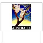 Australia Travel and Tourism Print Yard Sign