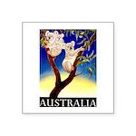 Australia Travel and Tourism Print Sticker