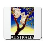 Australia Travel and Tourism Print Mousepad