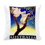 Australia Travel and Tourism Print Everyday Pillow