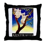 Australia Travel and Tourism Print Throw Pillow