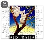 Australia Travel and Tourism Print Puzzle