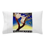 Australia Travel and Tourism Print Pillow Case