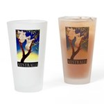 Australia Travel and Tourism Print Drinking Glass