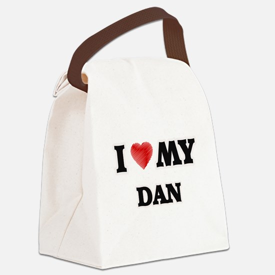I love my Dan Canvas Lunch Bag