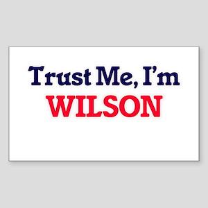 Trust Me, I'm Wilson Sticker