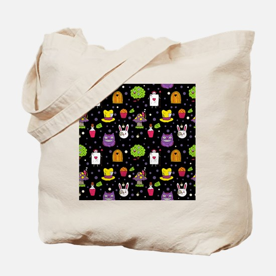 Funny Alice in wonderland cheshire cat Tote Bag