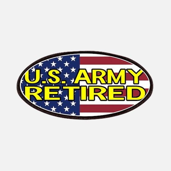 U.S. Army: Retired (American Flag) Patch