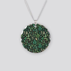 Forest Pattern Necklace