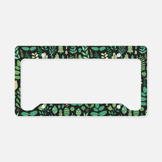 Forest Pattern License Plate Holder