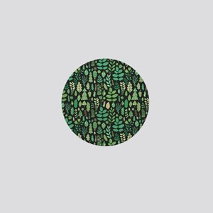 Forest Pattern Mini Button