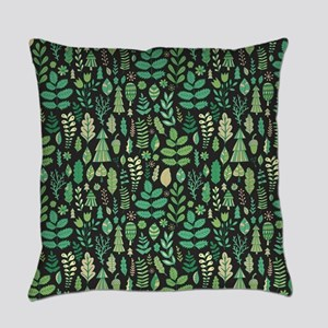 Forest Pattern Everyday Pillow