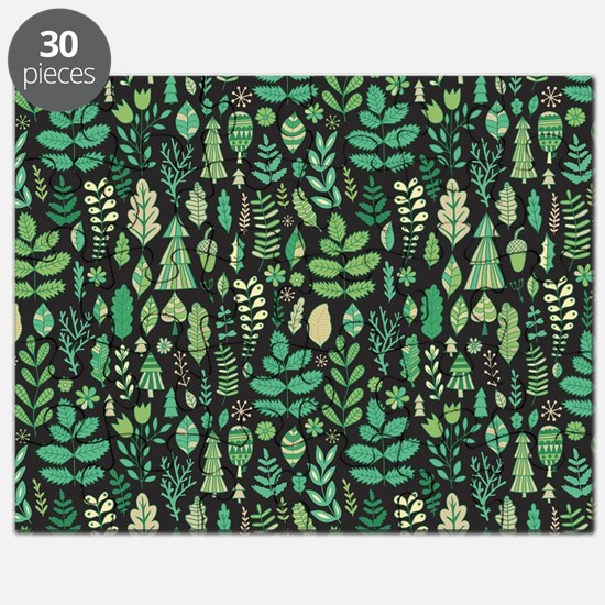 Forest Pattern Puzzle