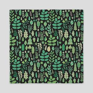 Forest Pattern Queen Duvet