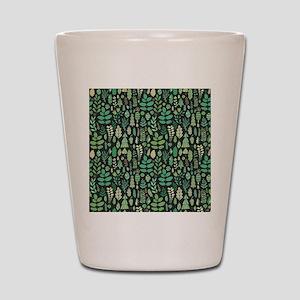 Forest Pattern Shot Glass