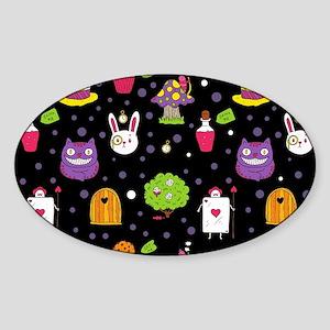 black Wonderland Sticker