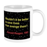 Reagan Missile Defense 1983 Mug Mugs