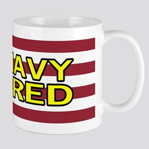 U.S. Navy: Retired (American Flag) Mug