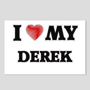 I love my Derek Postcards (Package of 8)
