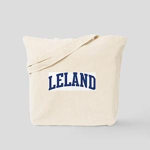 LELAND design (blue) Tote Bag