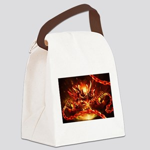 Lava god Canvas Lunch Bag