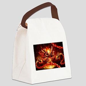 Lava god Canvas Lunch Bag