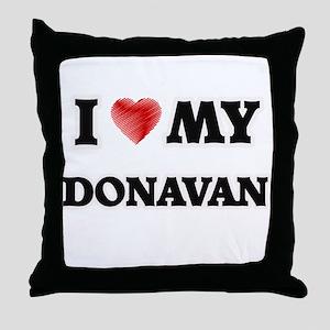 I love my Donavan Throw Pillow